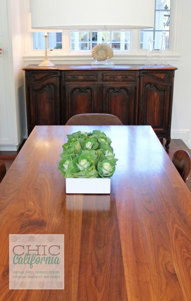 modern table, wood table