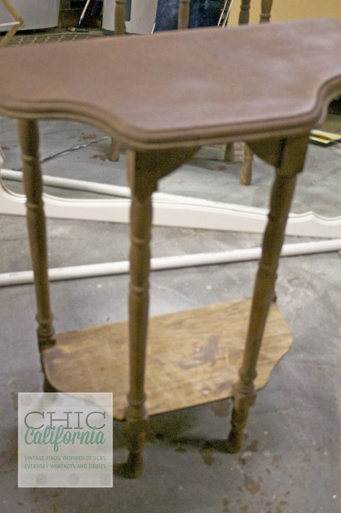 Union Jack Table Before