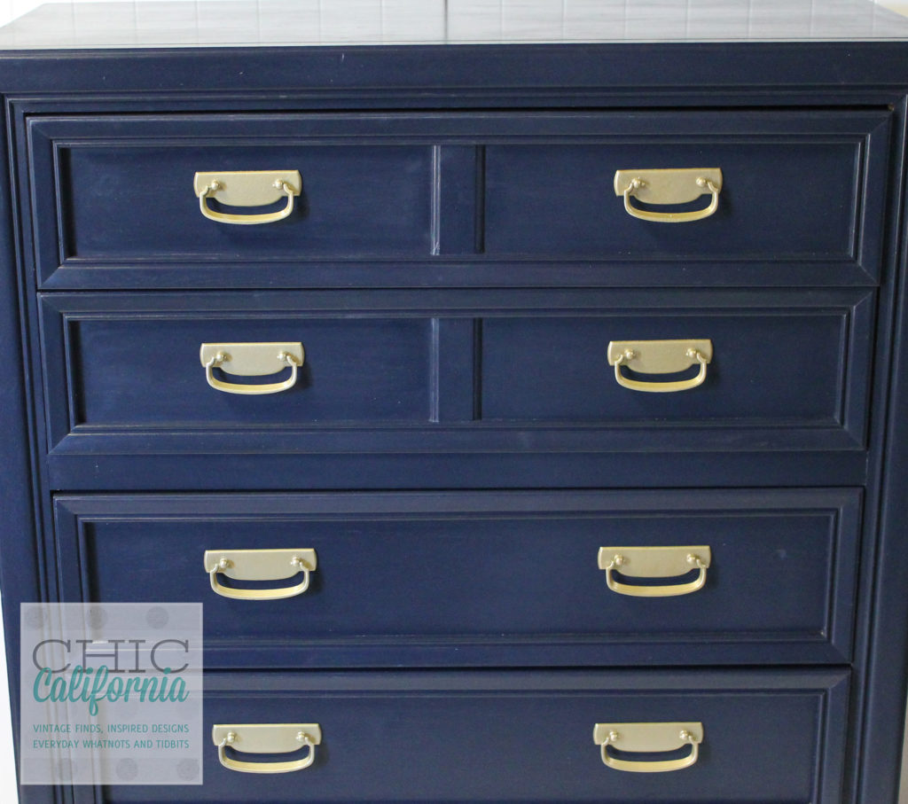 Coastal Blue Dresser, General Finishes Milk Paint