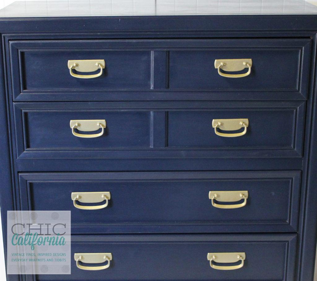 Coastal Blue Dresser, General Finishes Milk Paint