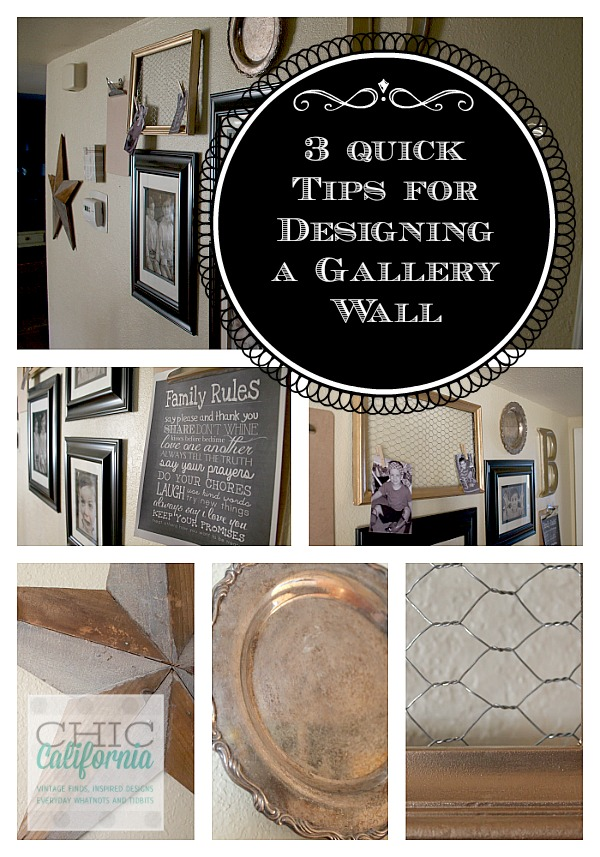 3 tips for creating a gallery wall