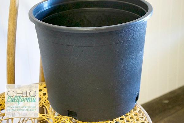 plastic planter