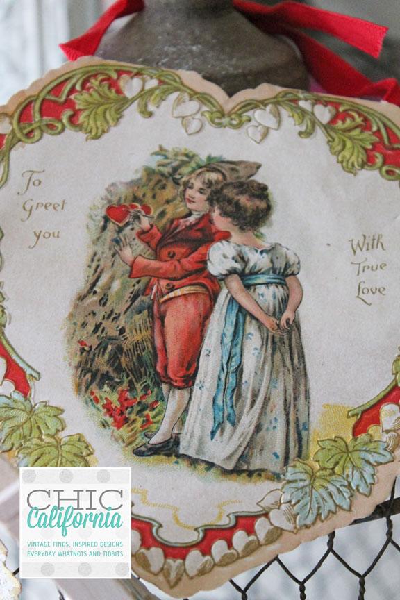 Vintage Heart Valentine