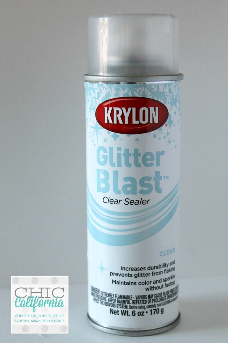 Krylon Glitter Blast DIY Glass Glitter iPhone Case