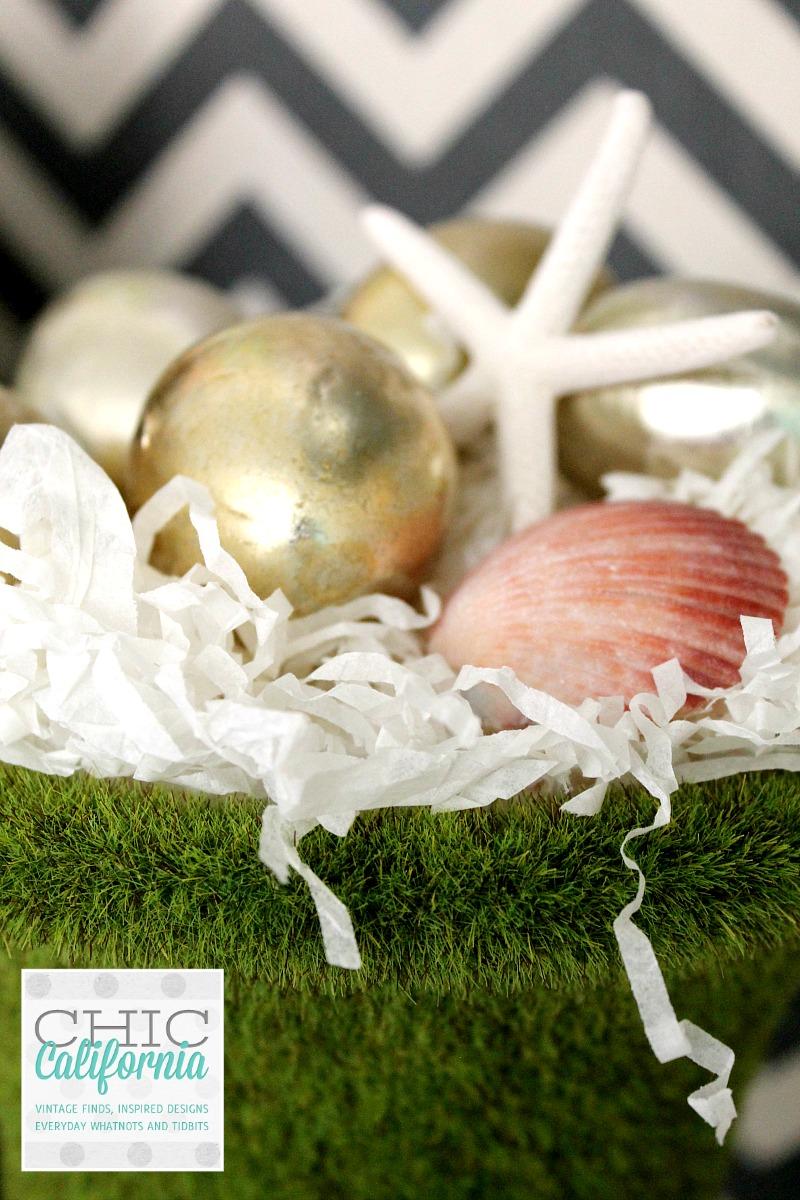 Seashells and Easter Eggs