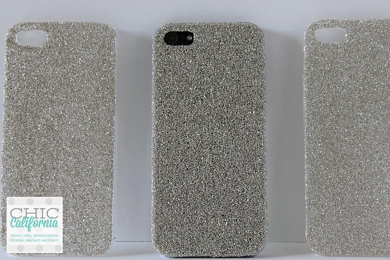 Glittered Phone Case Tutorial