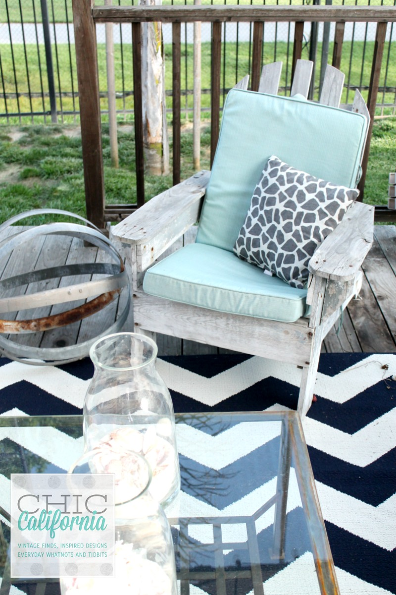 How I Made An Outdoor Lounger Bed For Less Than 30 And Giveaway Chic California