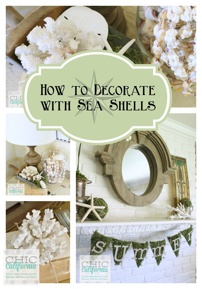 How to Decorate With Sea Shells