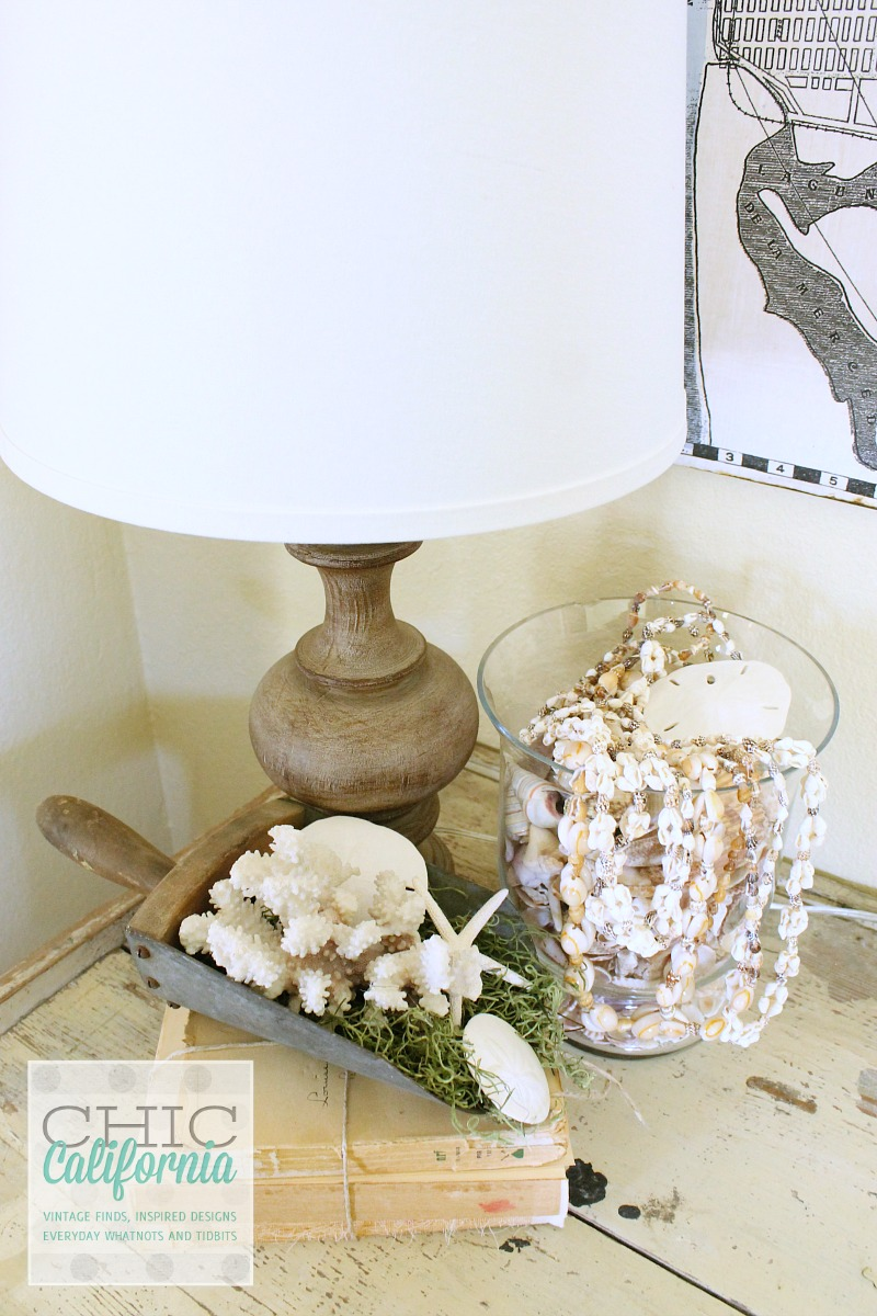 Side Table with SeaShells