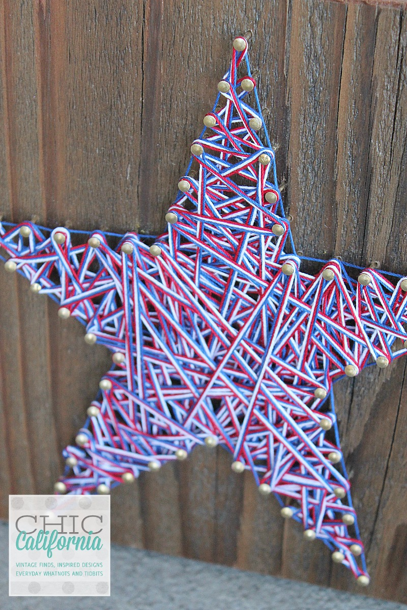 Star String Art