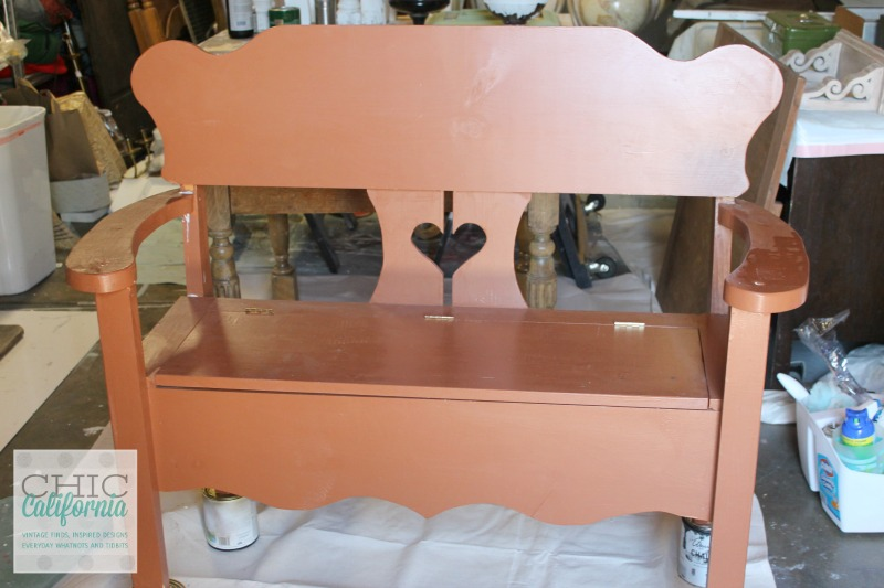 Ugly Brown Bench