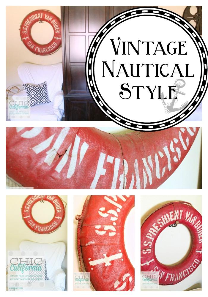 Vintage Nautical Style