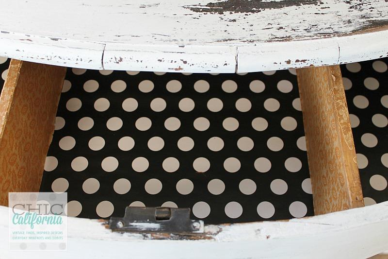 polka dot drawer liner