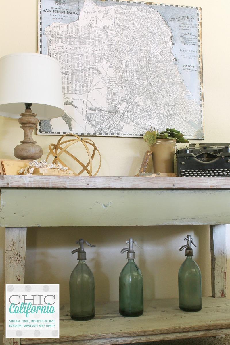 vintage market table