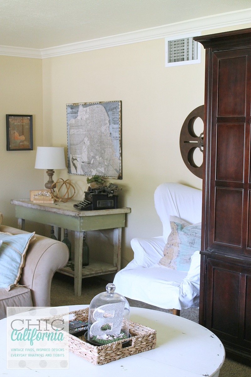 Living Room Tour from Chic California