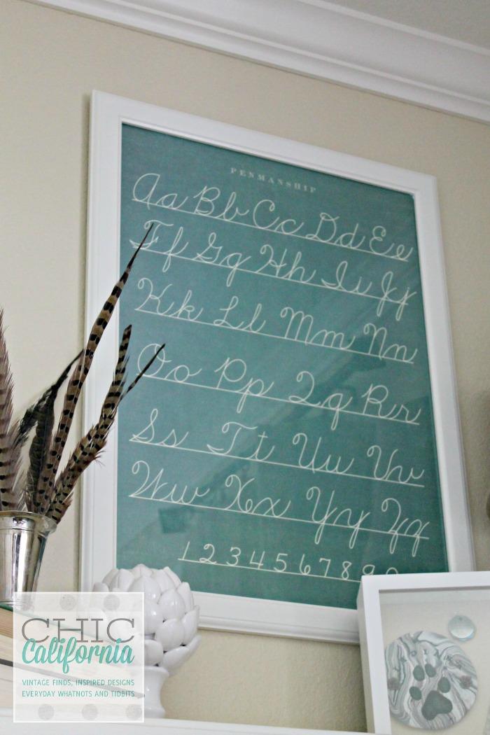 Bookshelf Styling by Chic California