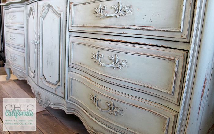How to use Milk Paint by Chic California