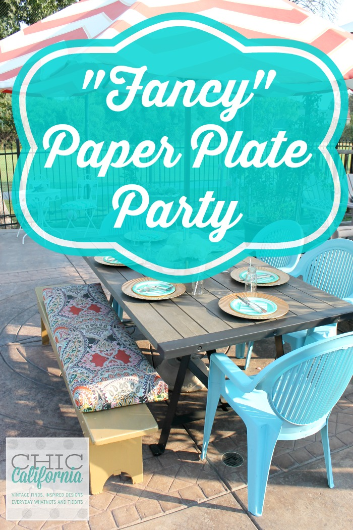 Fancy Paper Plate Party 2