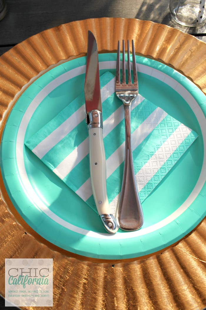Hosting a Party Using Paper Plates by Chic California