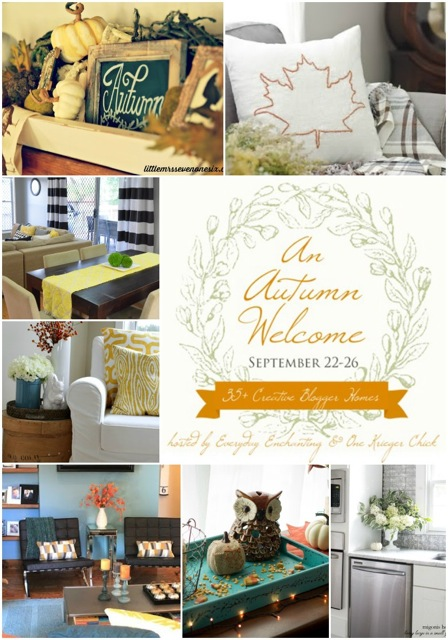An Autumn Welcome Home Tour- Day Four