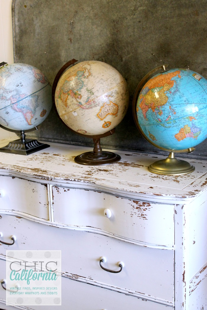 Dresser Painted in Sweet Pickins Milk Paint In Creamy by Chic California
