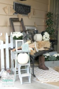 Fall Home Tour Front Door