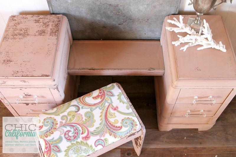 Milk Paint Vanity by Chic California