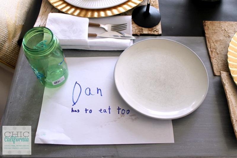 Dan has to eat too