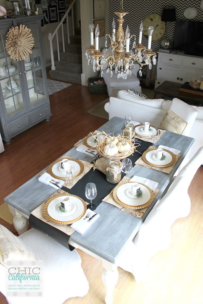 Thanksgiving Table by Chic California