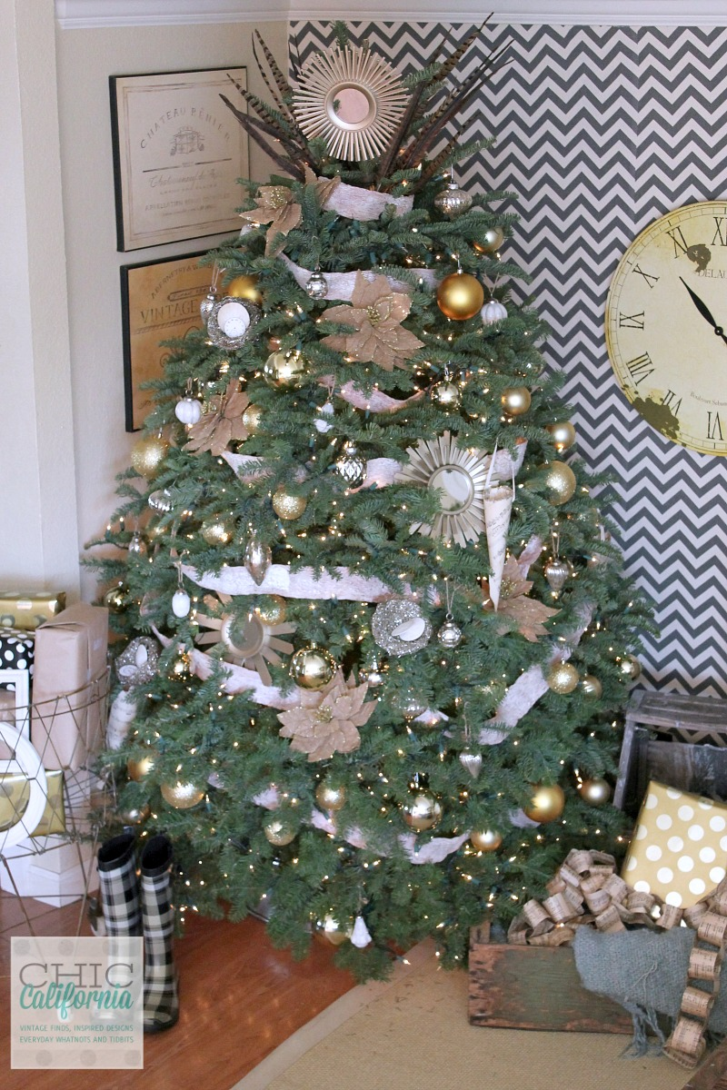 Christmas Tree Decor from Chic California