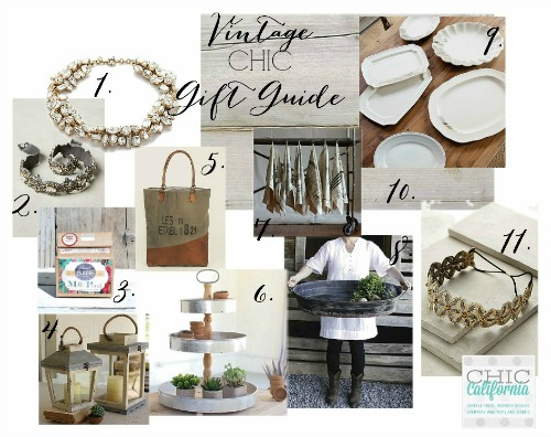 Vintage Chic Gift Guide
