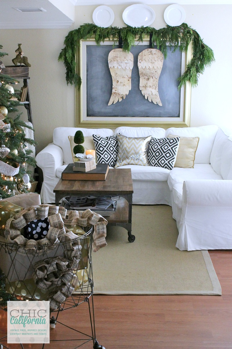 A Very Merry Christmas Home Tour And Blog Hop Chic
