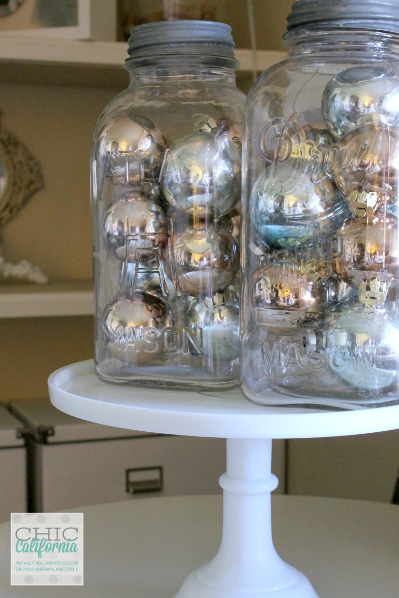 Vintage Ornaments- Christmas Home Tour