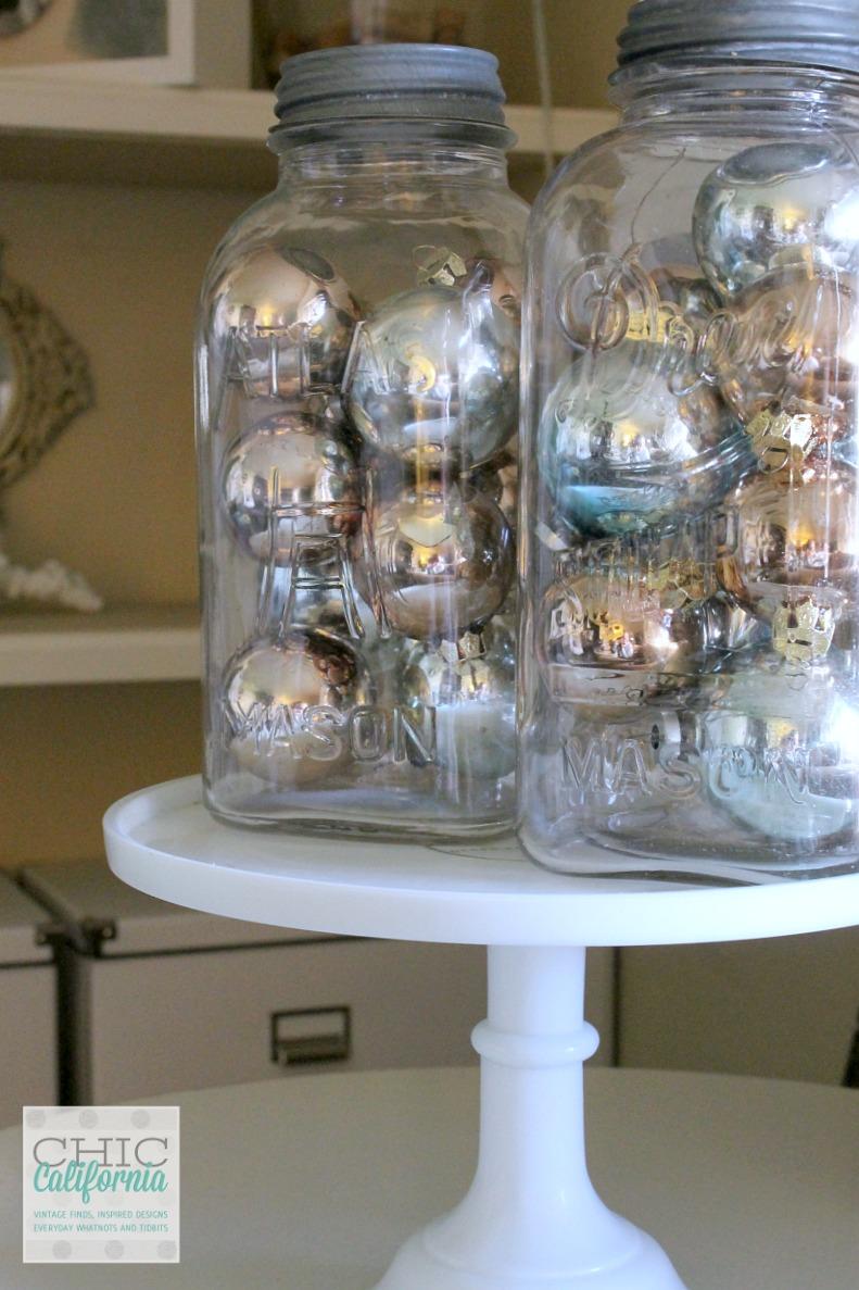 Vintage Ornaments- Christmas Home Tour