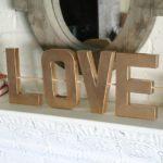 Paper Mache Love Letters: Valentine's Day Craft