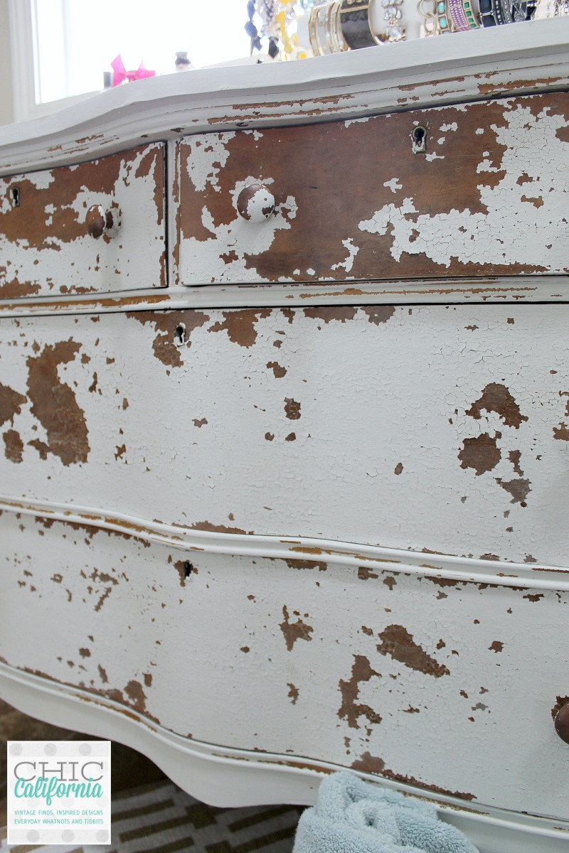 Chippy Milk Paint dresser