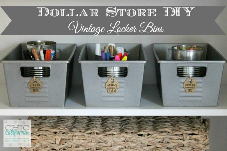 Decorative Metal Storage Bins Designs