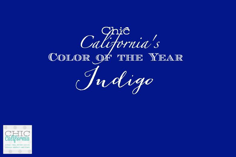 Chic California's Color of the Year: Indigo