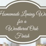 Homemade Liming Wax for a Weathered Oak Finish