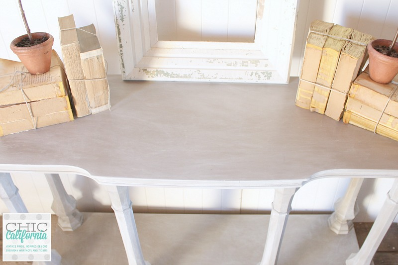 RH Style Faux Weathered Pine Table