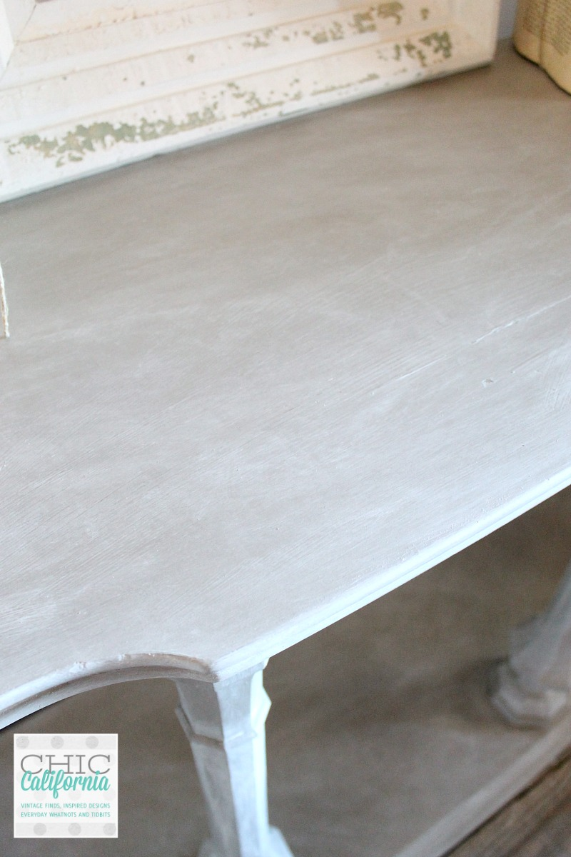 Liming wax table