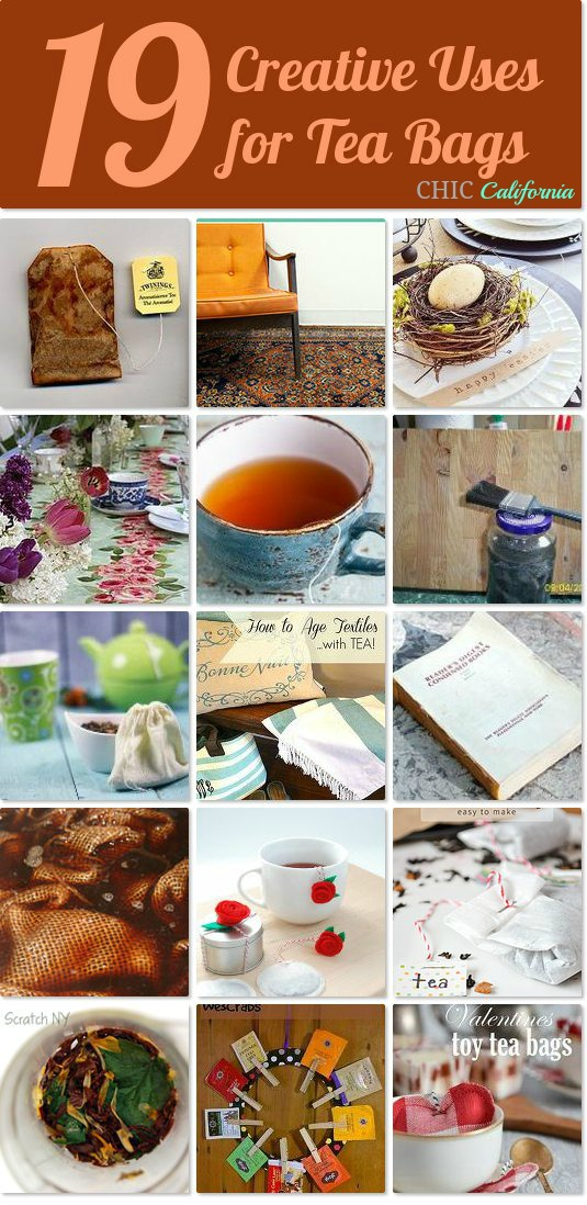 19 Creative Uses for Tea Bags