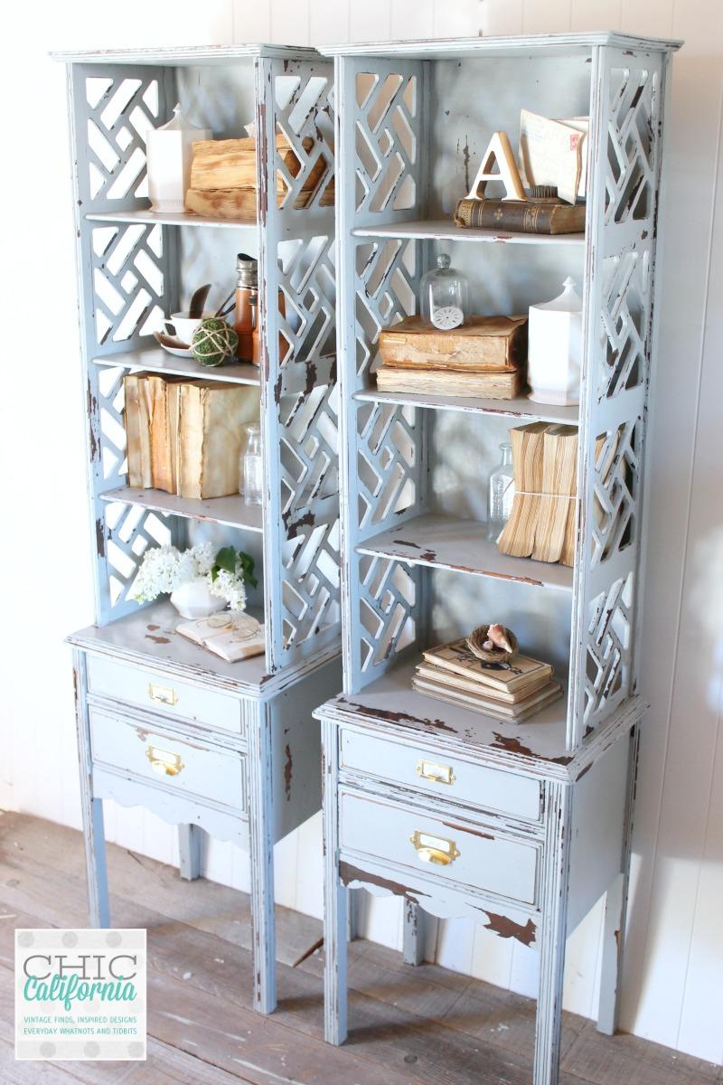 Shelf makeover