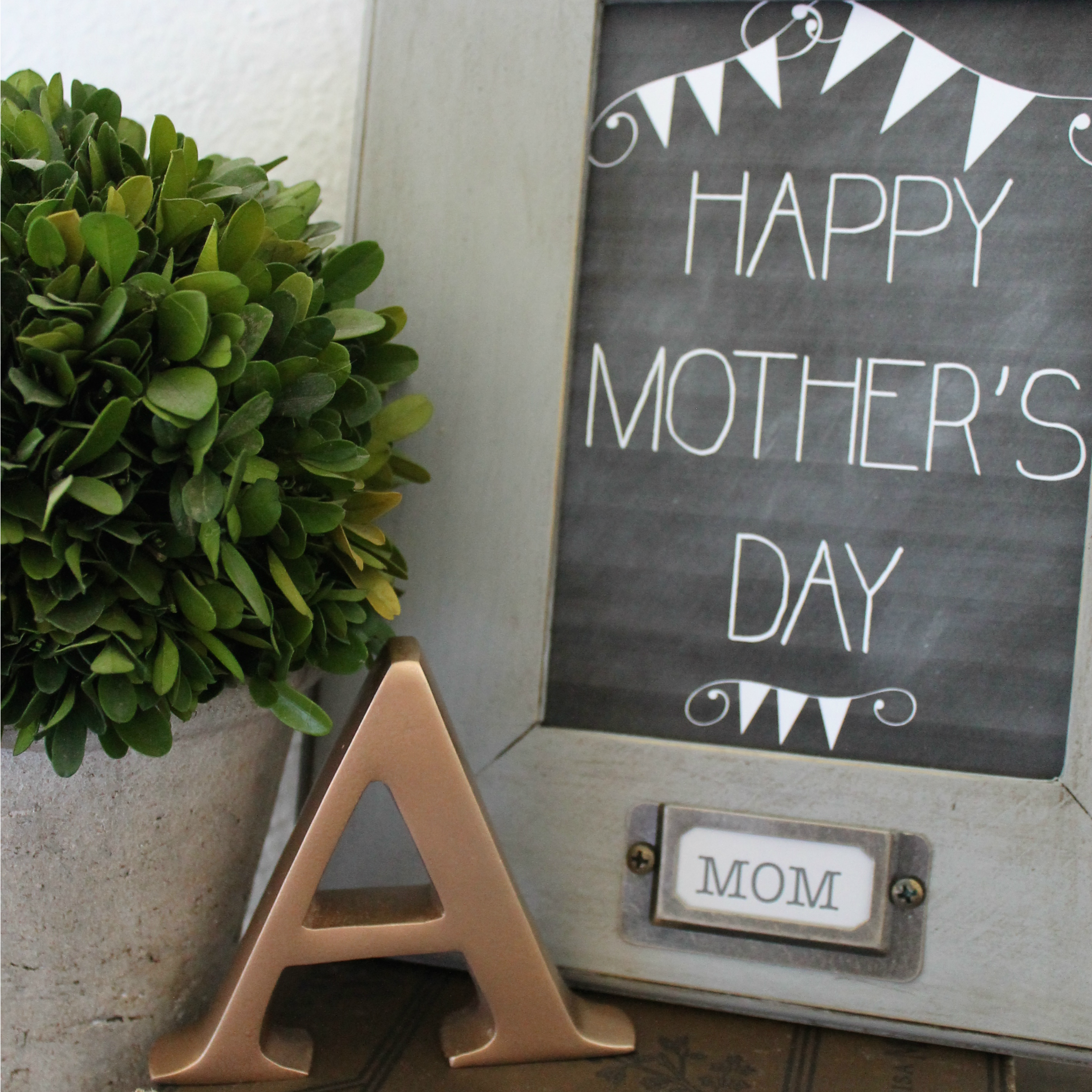 Mothers Day Craft in a SNAP