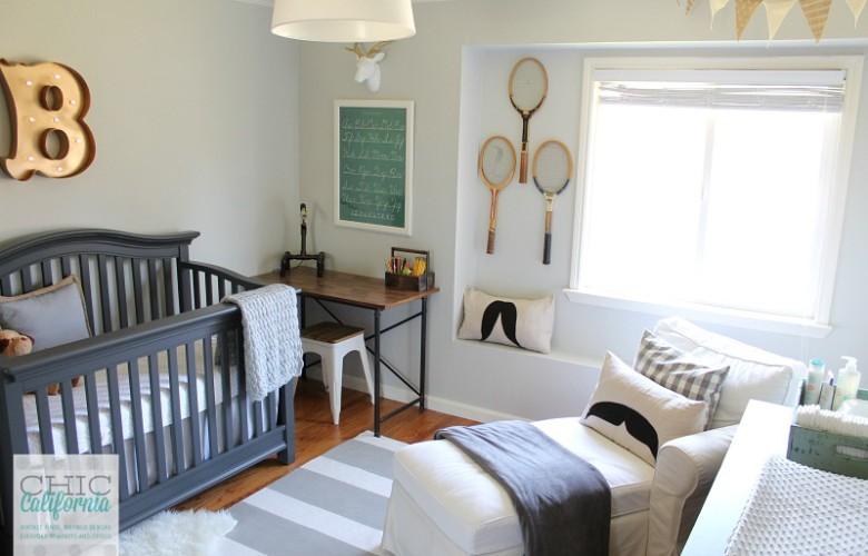 Vintage Style Baby Boy Nursery Reveal