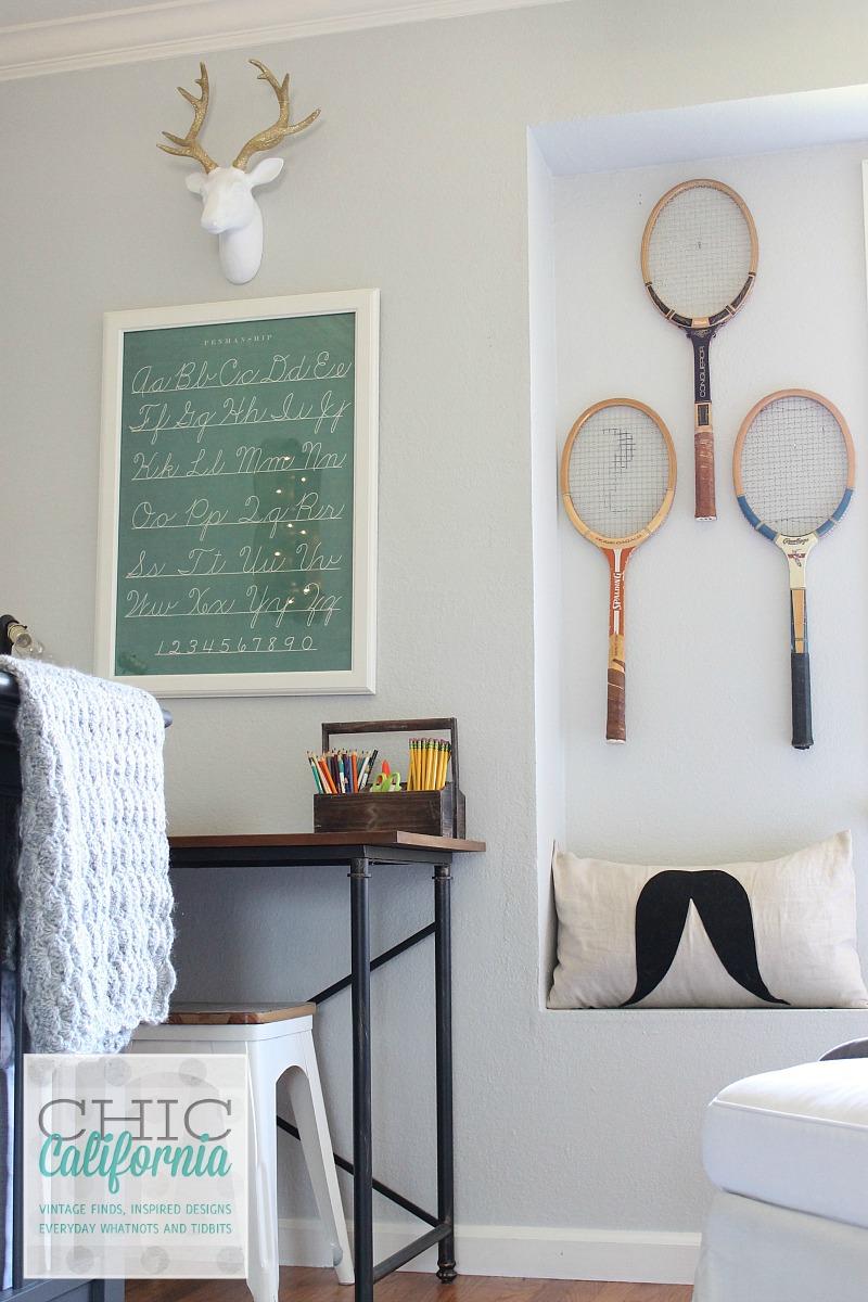corner of Beau's room