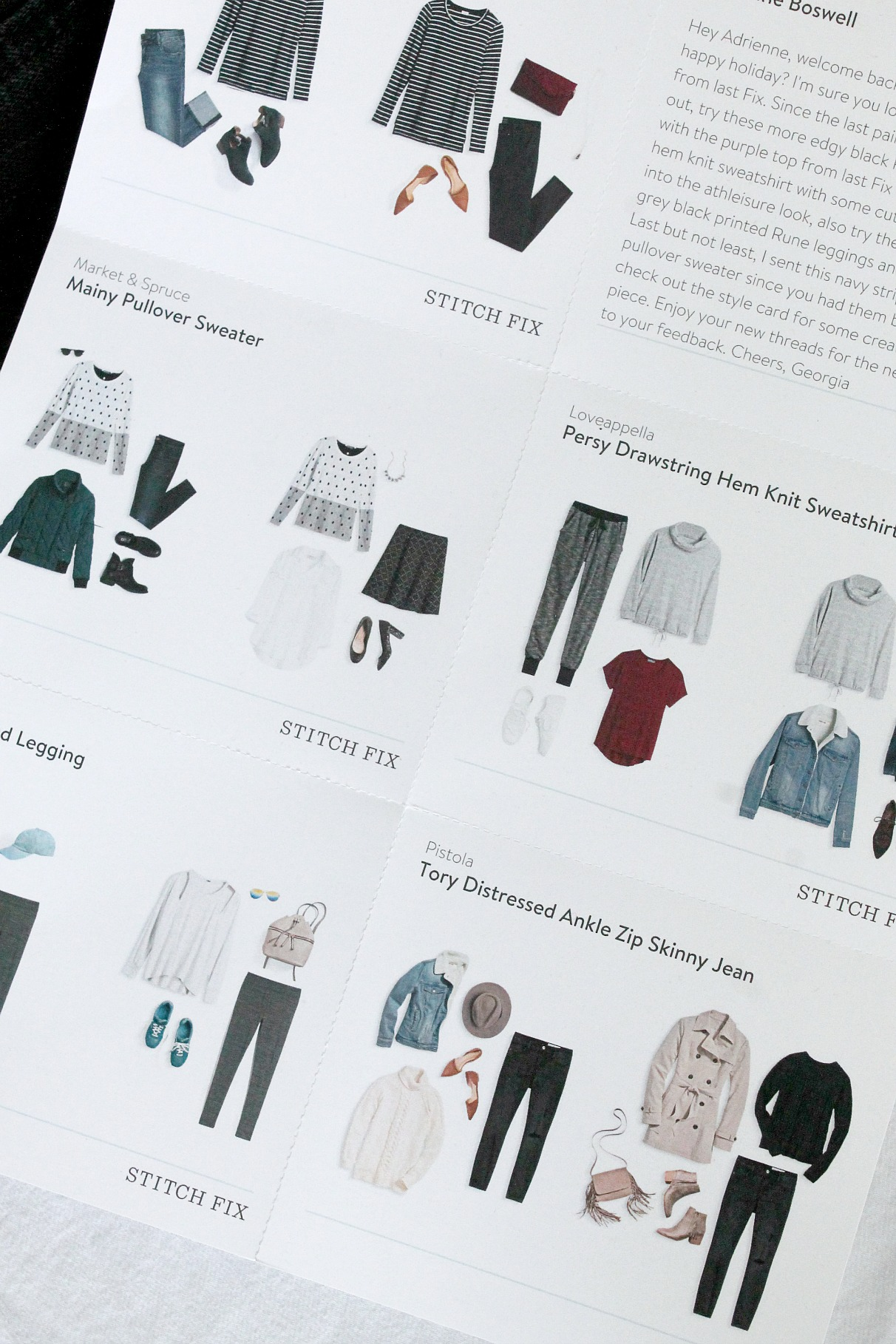 Stitch Fix January 2017 Review