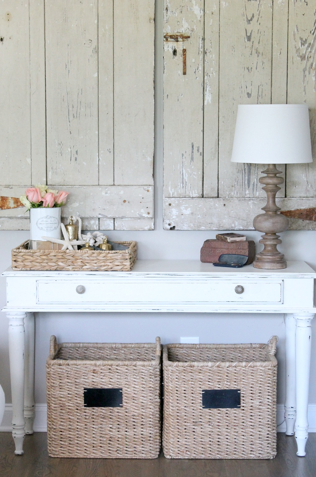 Summer Home Tour White Table