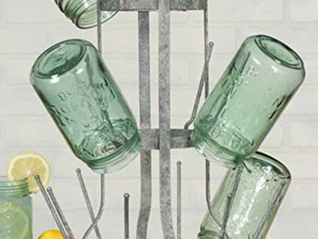 Vintage Bottle Drying Rack