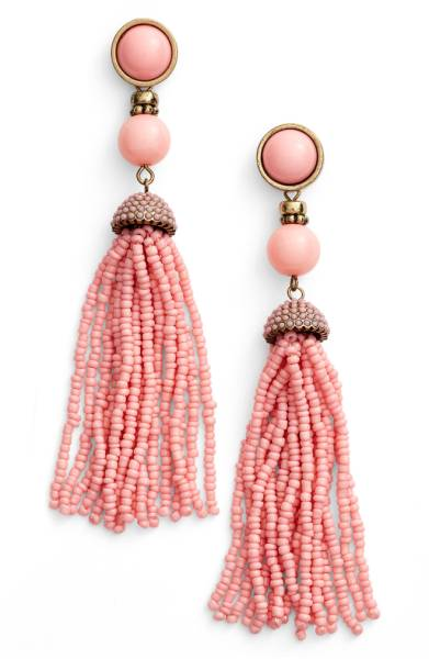 Artemis Baublebar Beaded Tassel Earrings